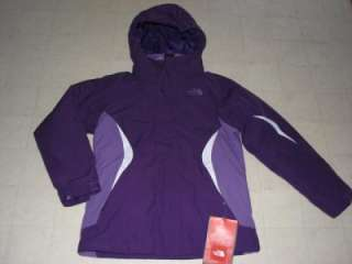 The North Face Boundary Triclimate Jacket Girls Black/Pink/Purple M