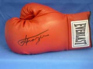 Joe Frazier Signed Autograph Everlast Boxing Glove COA