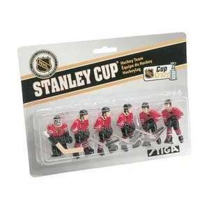 Stiga Chicago Blackhawks Table Rod Hockey Players   Chicago Blackhawks