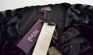 Velvet Dress XS 0 2 4 UK 4 6 8 NWT Sweet Surrender Black Beaded