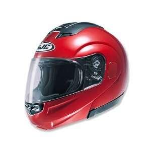 HJC Sy Max Full Face Modular Helmet Medium  Red Automotive