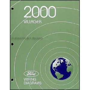 2000 Mercury Villager Wiring Diagram Manual Original: Mercury: Books