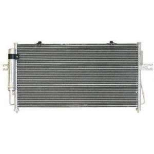 03 NISSAN FRONTIER truck A/C CONDENSER SUV, , Parallel Type OEM Style