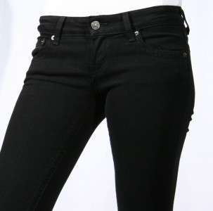 Brand New Just USA Jean Super Slim Skinny Black Sz 0~13