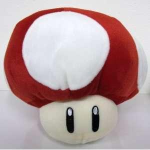 Super Mario Bros Power Up Red Mushroom 8 Plush