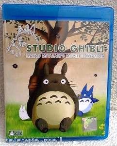 Studio Ghibli Hayao Miyazaki 10 Movies & Bonus Collection DVD [ENGLISH