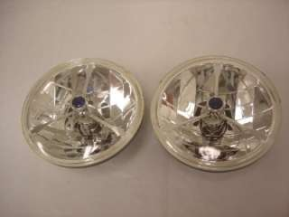 BLUE DOT TRI BAR HEADLIGHTS FORD CHEVY STREET ROD