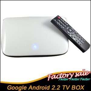 Full HD 1080P Android2.2 Wifi Internet TV Box HDD HDMI Media player V6