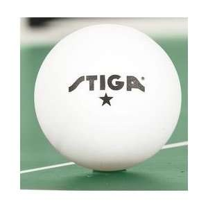 Stiga 1 Star Table Tennis Balls