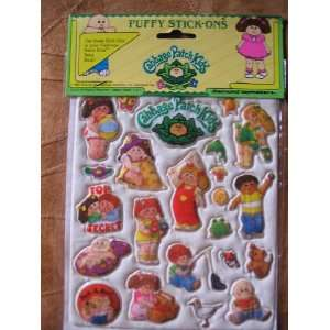 1983 CPK Cabbage Patch Kids Puffy Stick Ons Stickers: Everything Else