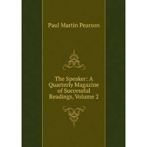 Magazine of Successful Readings, Volume 2 Paul Martin Pearson Books