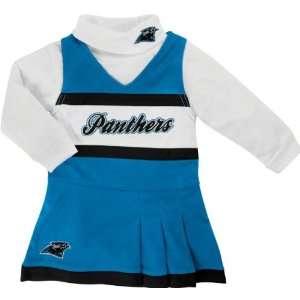 Reebok Carolina Panthers Infant Girls Panther Blue White 2