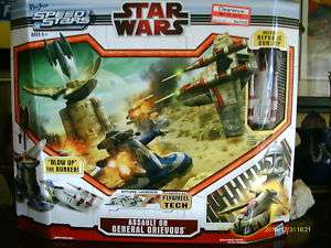 STAR WARS MICRO MACHINES ASSAULT ON GENERAL GRIEVOUS
