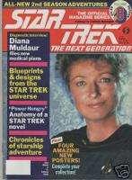 Star Trek TNG Official MAGAZINE # 8,1988 1989 Season
