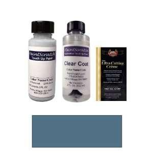 2 Oz. Medium Steel Blue Metallic Paint Bottle Kit for 2005