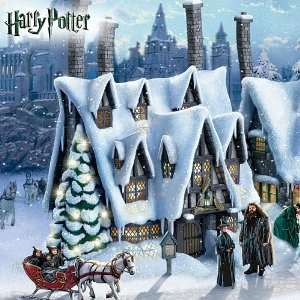 Potter Christmas Village Collection: At Hogsmeade: Home & Kitchen