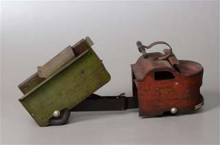 Ride on Toy Dump Truck, Garland Hydra, Pressed Steel 1950s