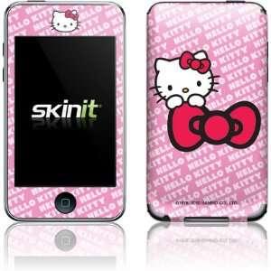 Skinit Hello Kitty Pink Bow Peek Vinyl Skin for iPod Touch