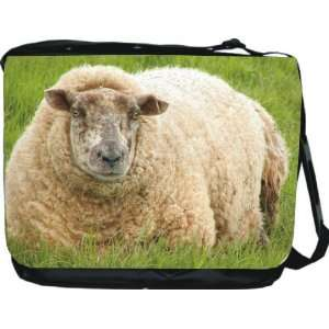 Rikki KnightTM Sheep Design Messenger Bag   Book Bag