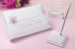 Mis Quince Anos Quinceanera Guest Book Pen Set