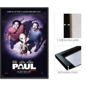 Paul Poster Alien Abduction Seth Rogen FrPAS0257: Home & Kitchen