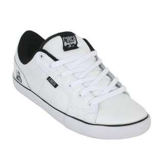 Circa Cero White Black Boys Mens Skate Shoe AL50 New in Box |