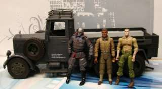 Indiana Jones Ultimate Soldier xd German Truck GIJoe dragon WWII + 3