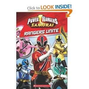 Power Rangers Samurai Rangers Unite [Paperback] Scholastic Books