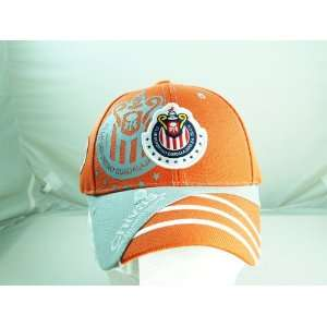 CHIVAS de GUADALAJARA OFFICIAL TEAM LOGO CAP / HAT   CV010