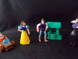 McDonalds Happy Meal Snow White Toys 9 Pieces July 1993
