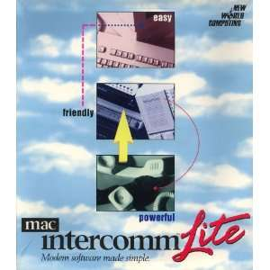 MacIntercomm Lite Modem Software Made Simple Software