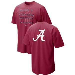 Alabama Crimson Tide Our House Roll Tide T Shirt
