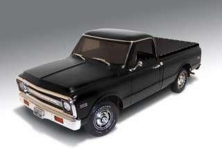 18 1972 Chevrolet pickup truck Matte Black
