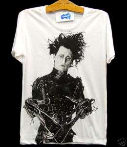 EDWARD SCISSORHANDS Johnny Depp VTG Rock T Shirt S/M