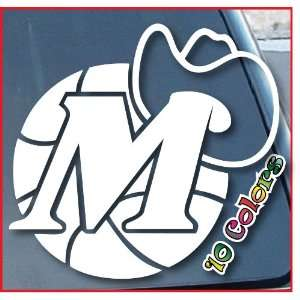 Dallas Mavericks Car Window Vinyl Decal Sticker 4 Wide