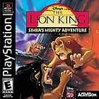The Lion King Simbas Mighty Adventure (Sony PlayStation 2000) MINT