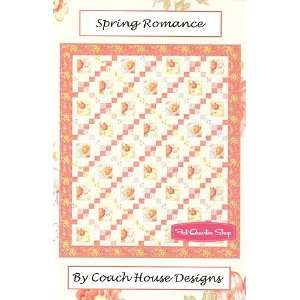 Romance Quilt Pattern   Coach House Designs Arts, Crafts & Sewing