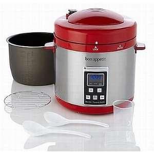 Bon Appétit 7qt Programmable Pressure Cooker SCRATCH AND DENT: