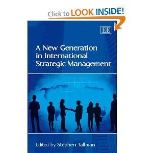 Strategic Management (9781848443655) Stephen Tallman Books