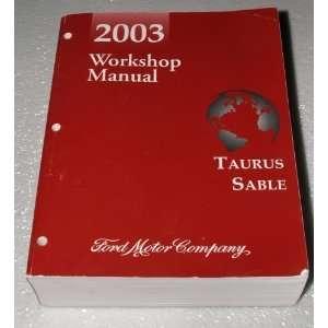 2003 Ford Taurus, Mercury Sable Workshop Manual (Complete