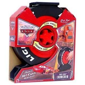 MATCHBOX CAR CARRYING STORAGE CASE SHAPED LIKE LIGHTNING McQUEEN TIRE