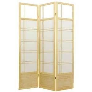 Oriental Furniture Kumo Classic Shoji Room Divider in Natural SSCKMO