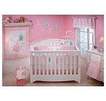 BABY PRINCESS CINDERELLA CASTLE CRIB SET NURSERY BEDDING+DECOR NEW