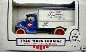 IGA 1926 Mack Bulldog Delivery Truck Bank Limited Ed. |