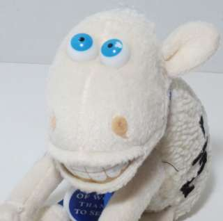 Serta COUNTING SHEEP 1/2 Braces Stuffed PLUSH Animal