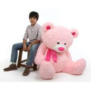 Lulu Shags Chubby and Huge Pink Teddy Bear 52in Toys