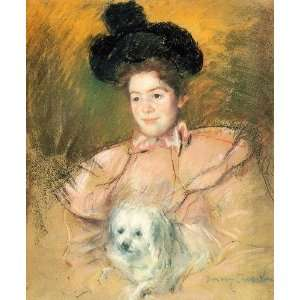 Hand Made Oil Reproduction   Mary Stevenson Cassatt   32 x 38 inches