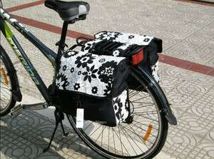 Cycling Bicycle Bike back seat bag pannier NEW