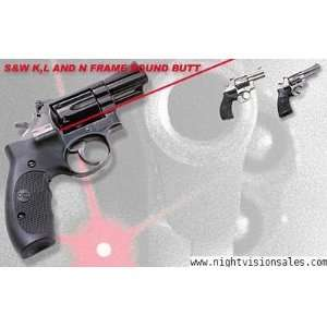Crimson Trace Laser Grip LG 206 Smith & Wesson K L N Frame 206 FREE