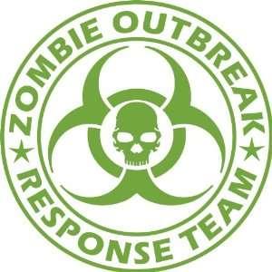 Zombie Outbreak Response Team NEW DESIGN Die Cut Vinyl Decal Sticker 5
